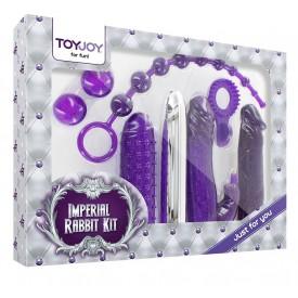 Набор фиолетовых стимуляторов Imperial Rabbit Kit