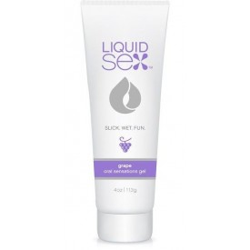 Гель для орального секса с ароматом винограда Liquid Sex Oral Sex Gel Grape - 113 гр.